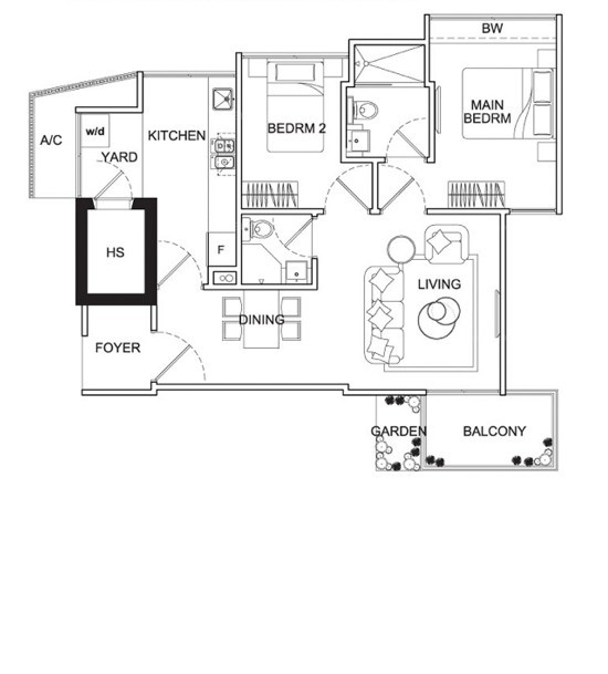 Mackenzie 88 (D9), Apartment #1722