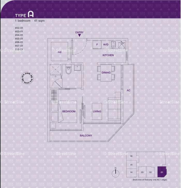 1 Loft Geylang Floor Plan 1 Loft Geylang Floor Plan Loft