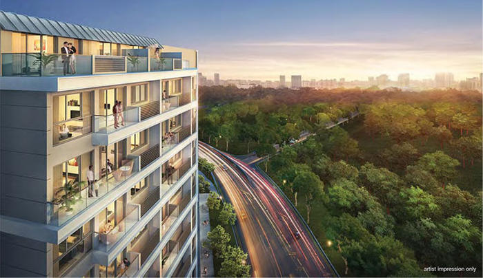 The Rise @ Oxley - Residences (D9), Apartment #1349442