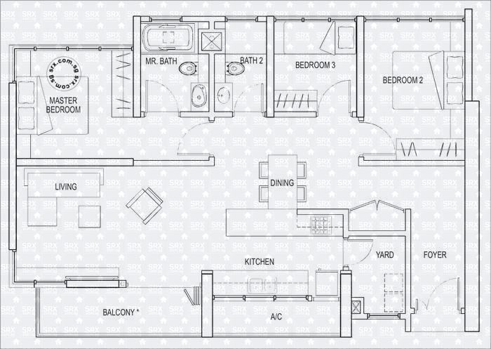 Kallang riverside drone and condo details kampong bugis for Riverside house plans
