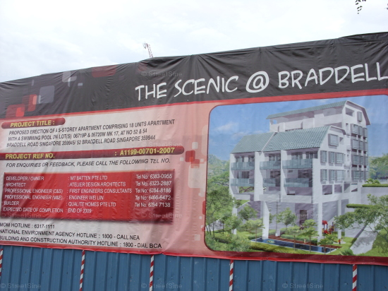 The Scenic @ Braddell (D13), Apartment #1237882