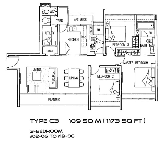 Cairnhill Residences (D9), Apartment #1398