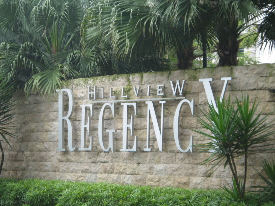 Hillview Regency (D23), Condominium #1035862