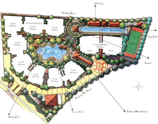 Floor Plans For Camelot By The Water Condo Srx