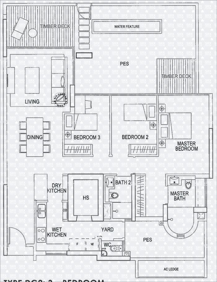 double bay residences d18 condominium for rent 75729182 st regis bal harbour floor plans free home design ideas