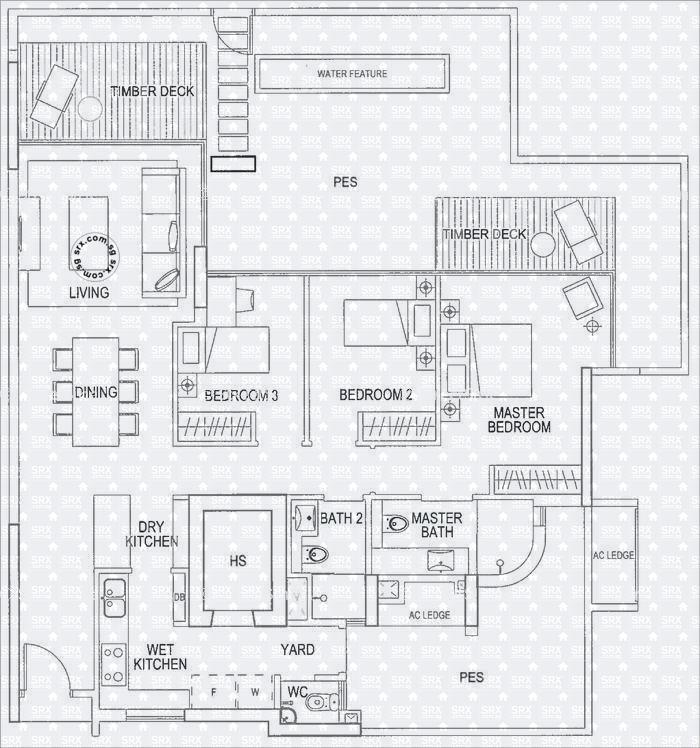 Floor Plans for Double Bay Residences Condo | SRX Property