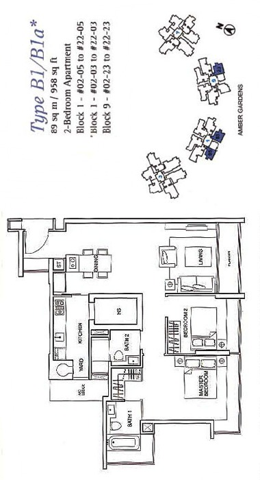 One Amber (D15), Condominium #1221