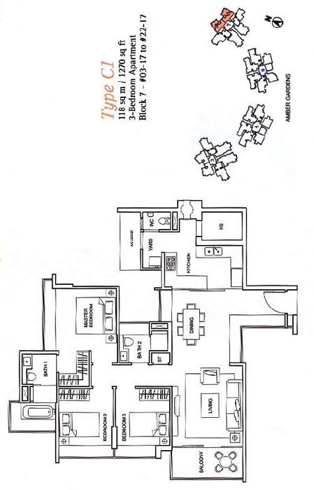 One Amber (D15), Condominium #1222