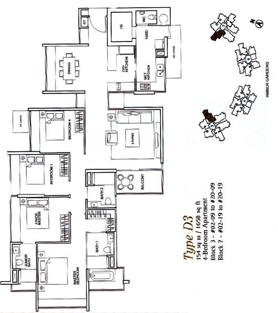 One Amber (D15), Condominium #1223