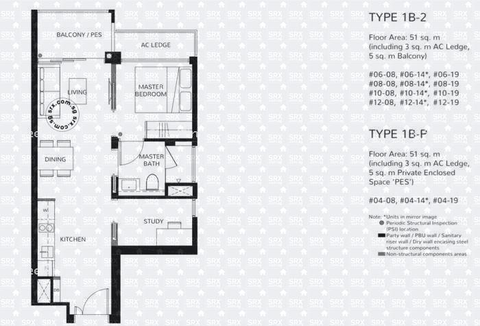 Floor Plans for The Wisteria Condo | SRX Property