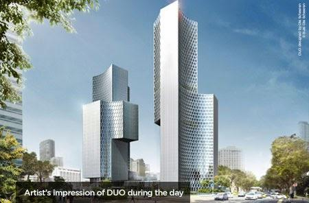 Duo Tower commercial project photo
