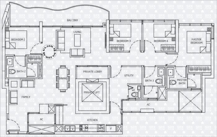 Queens Peak Floor Plan Image #1