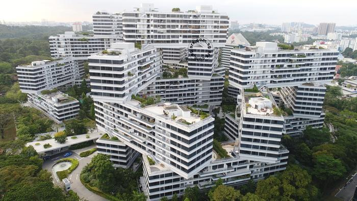 The Interlace Drone and Condo Details - Depot Road in Sentosa / Harbourfront (D4) | SRX