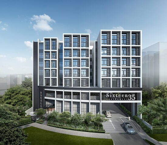 Sixteen35 Residences project photo thumbnail