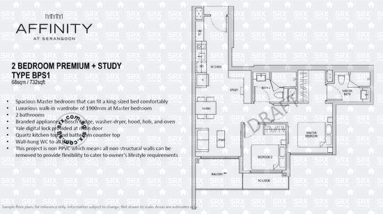 Affinity At Serangoon (D19), Apartment #1938022