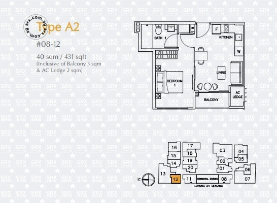 Rezi 24 (D14), Apartment #1979722