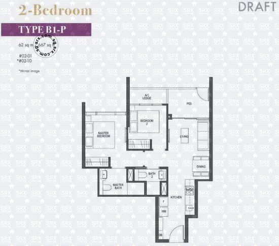Pullman Residences Newton (D11), Apartment #2016531