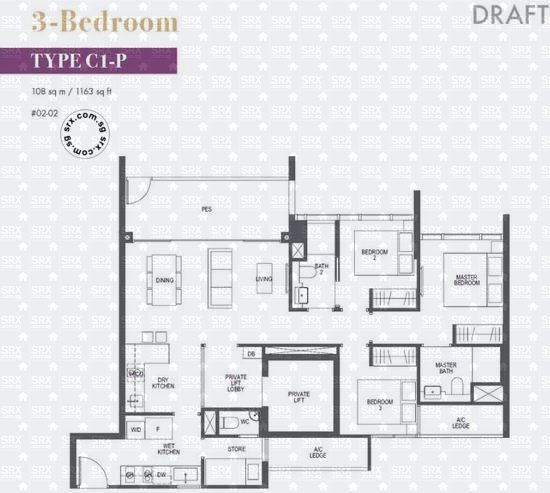 Pullman Residences Newton (D11), Apartment #2016561