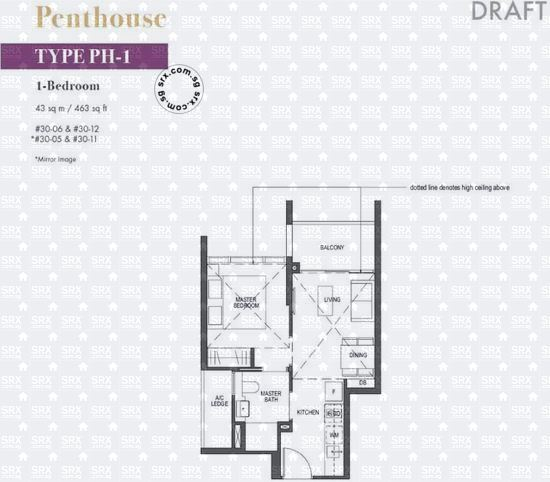 Pullman Residences Newton (D11), Apartment #2016651