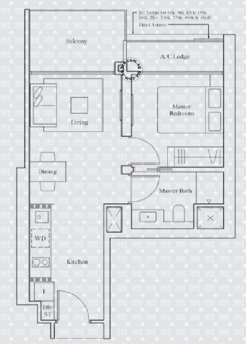 Avenue South Residence (D3), Apartment #2014401