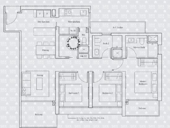 Avenue South Residence (D3), Apartment #2014461