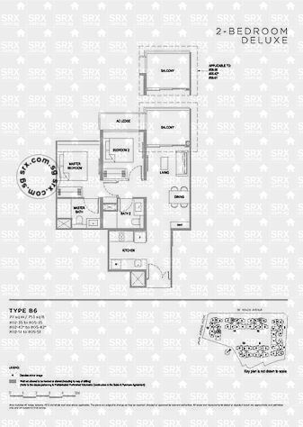 Verdale (D21), Apartment #2048271