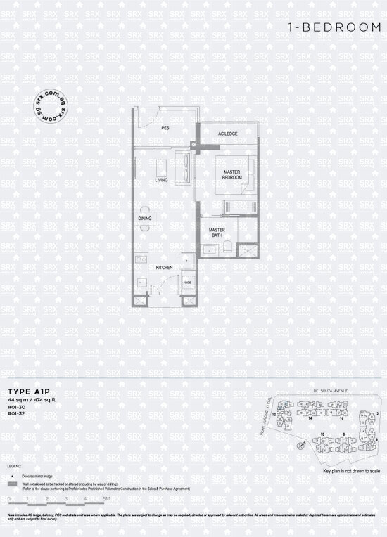 Verdale (D21), Apartment #2053431