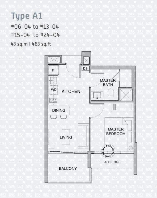 Verticus (D12), Apartment #2031801