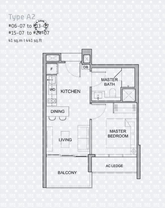Verticus (D12), Apartment #2031831