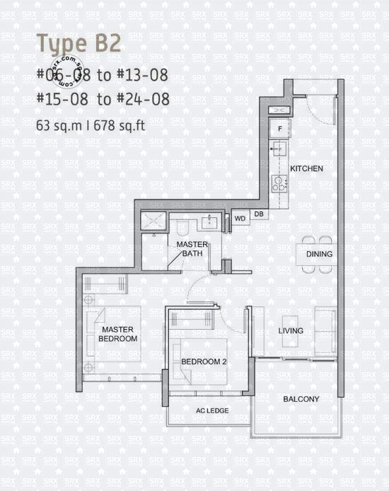 Verticus (D12), Apartment #2031891