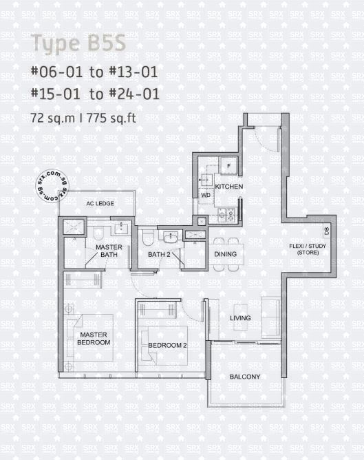 Verticus (D12), Apartment #2031951