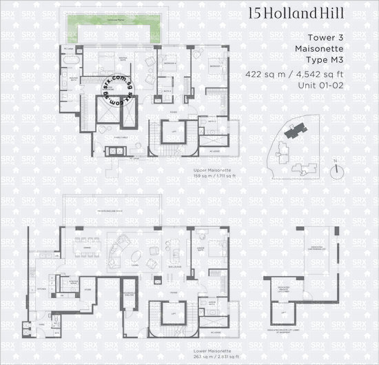 15 Holland Hill (D10), Apartment #2036061
