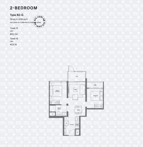 Midtown Modern (D7), Apartment #2057991