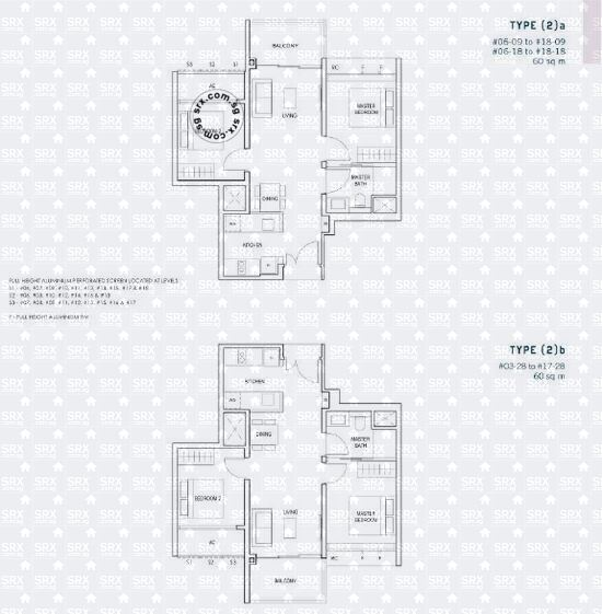 Penrose (D14), Apartment #2054001