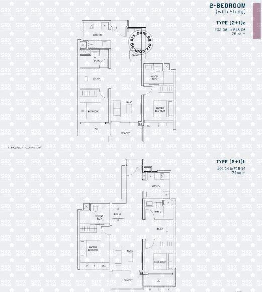 Penrose (D14), Apartment #2054151