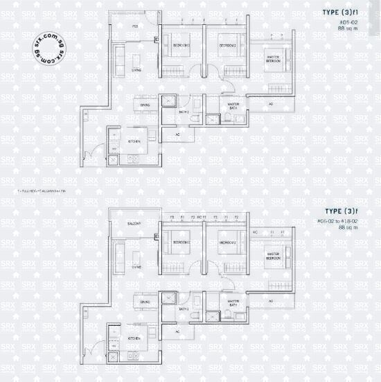 Penrose (D14), Apartment #2054331