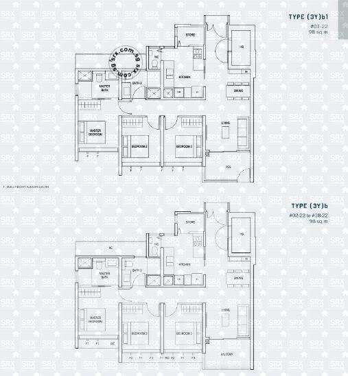 Penrose (D14), Apartment #2054391