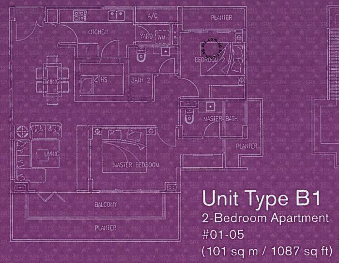 Floor Plans for D\'evelyn Condo | SRX Property