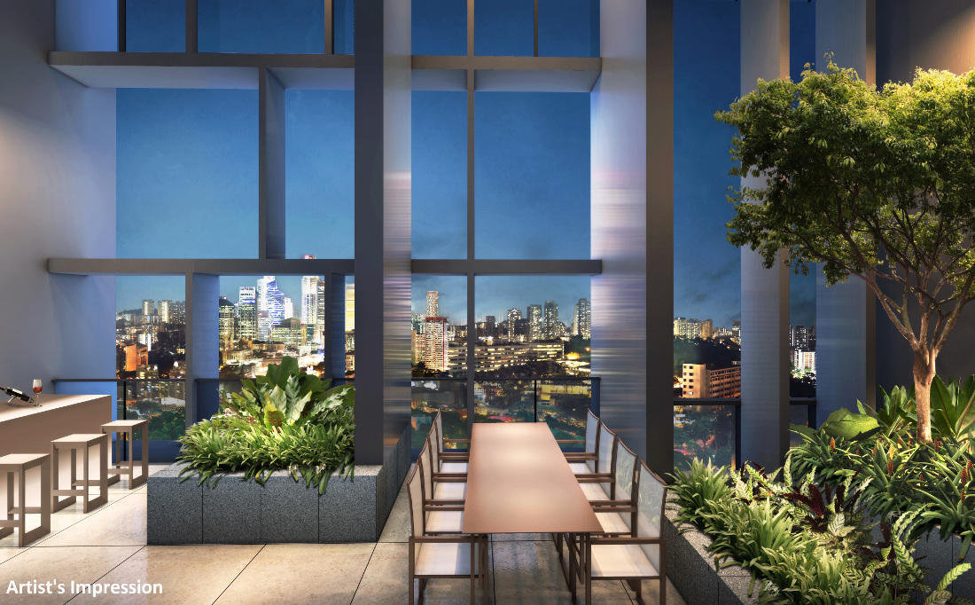 Commonwealth Towers Sky Terrace Artist Impression