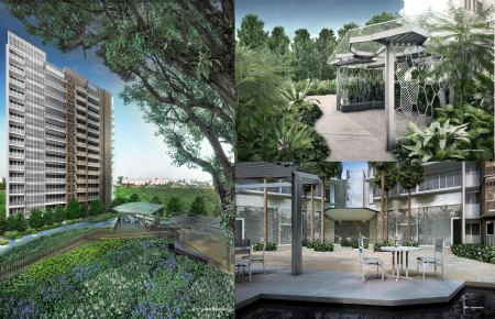 Bartley Residences exterior and facilities artist impression