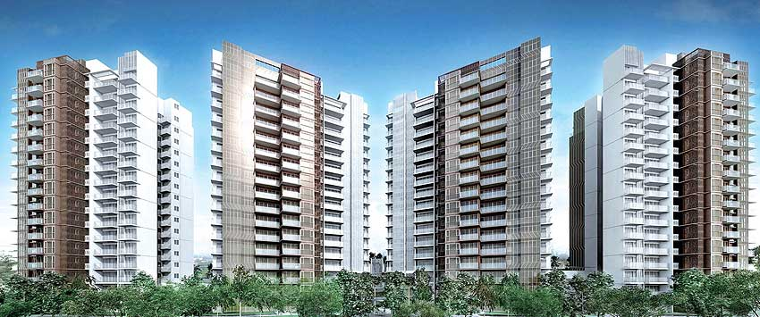 Bartley Residences blocks artist impression