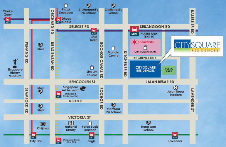 Floor Plans For City Square Residences Condo Srx