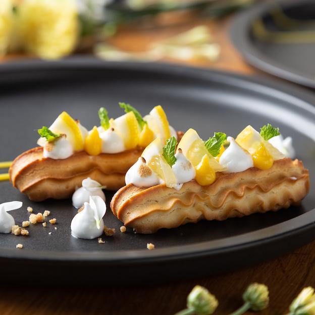 Lemon Meringue Éclairs