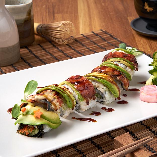 Unagi Sushi Roll