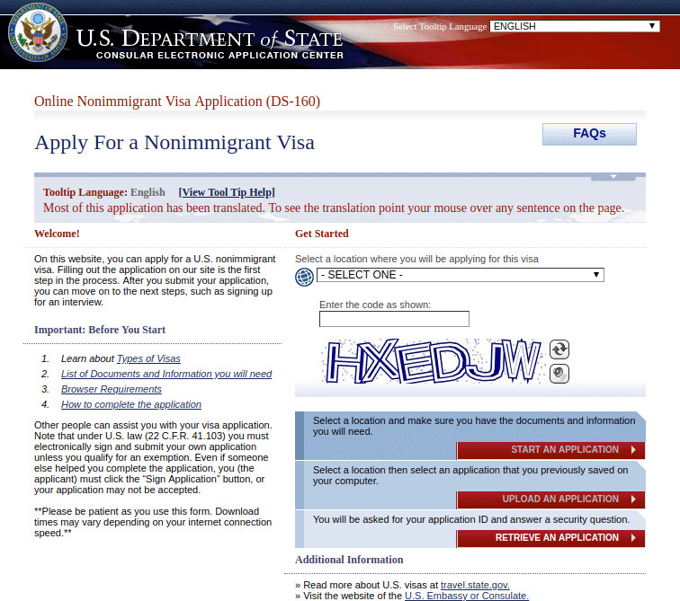 8 Simple Steps On How To Fill Ds 160 Form For Student Visa Yocket