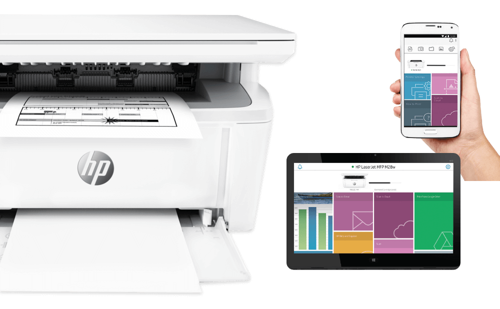 Easy mobile printing with HP Smart App