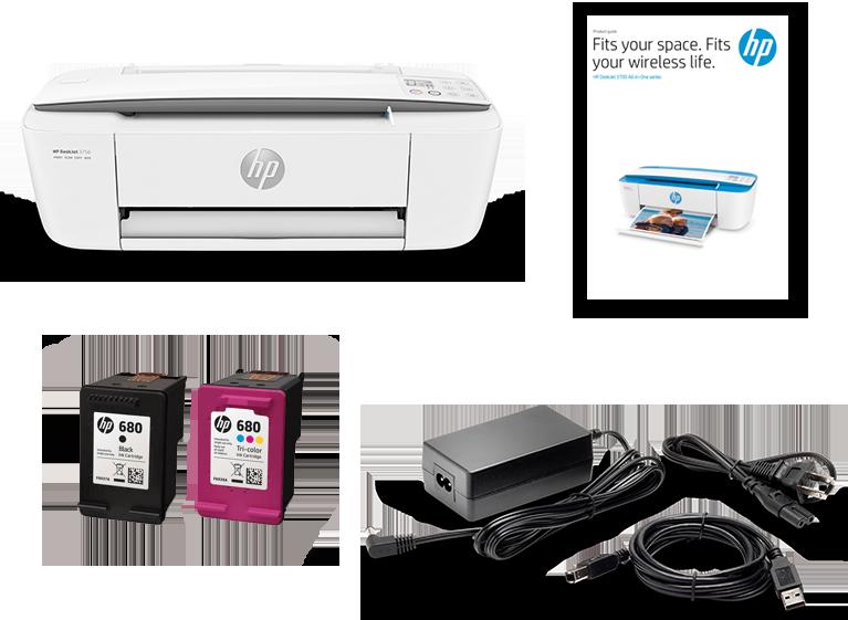 HP DeskJet 3700 AiO Printer