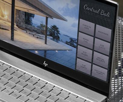 3-sided micro-edge display