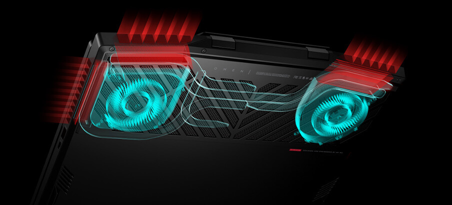 Stay cool under pressure with the all-new OMEN Tempest Cooling Technology