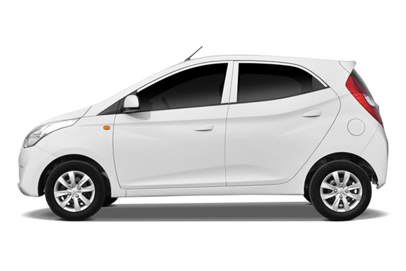 Hyundai Eon Photo Gallery Pictures Images Blue Hyundai Is An